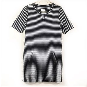 Lou and Grey black and white stripe dress